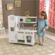 Dječja kuhinja Vintage Play Kitchen - White 06