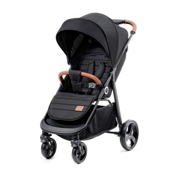 Dječja kolica Kinderkraft GRANDE sportska kolica boja crna (1)