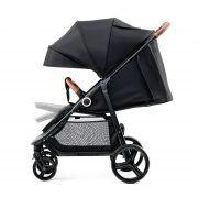 Dječja kolica Kinderkraft GRANDE sportska kolica boja crna (4)
