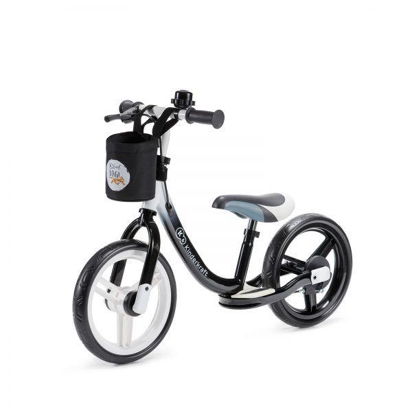 Dječji balansirajući bicikl bez pedala Kinderkraft Space crni 05