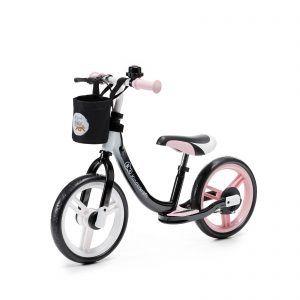 Dječji balansirajući bicikl bez pedala Kinderkraft Space rozi 05