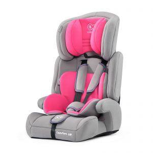Autosjedalica Kinderkraft COMFORT UP, 9-36 kg, grupe 1, 2, 3, roza 05