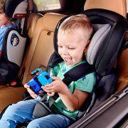 Autosjedalica Kinderkraft COMFORT UP, 9-36 kg, grupe 1, 2, 3, plava 06