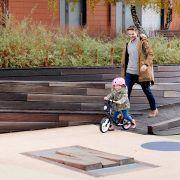 Dječji balansirajući bicikl bez pedala Kinderkraft Space crni 06