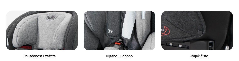 Autosjedalica Kinderkraft Safety Fix 02