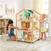 Dječja drvena kuća za lutke So Stylish Mansion 01