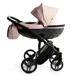 Dječja kolica TAKO JUNAMA DIAMOND, boja 10 crno-roza 01