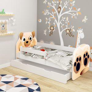Dječji krevet ACMA s ladicom, ANIMALS pas