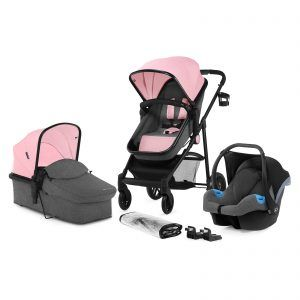 Dječja kolicaa Kinderkraft Juli pink (1)