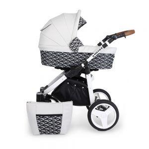 Dječja kolica Kunert ROTAX bijela rama, boja 02