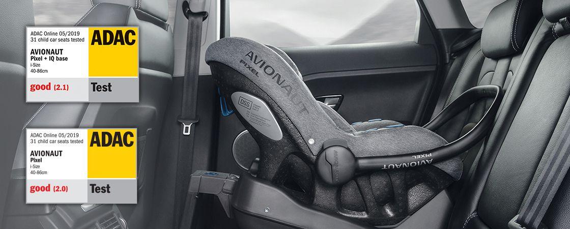 Dječja autosjedalica Avionaut PIXEL ADAC test naslovna
