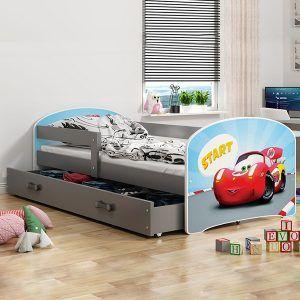 Dječji krevet BMS LUKI grafit naslovna