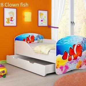 Drveni dječji krevet s ladicom 28 Clown Fish