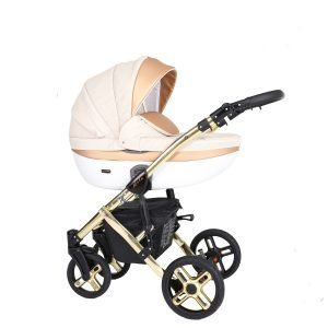 Dječja kolica Kunert MILA Premium GOLD 03 bež