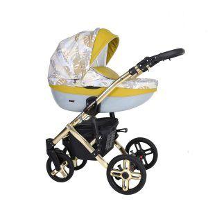 Dječja kolica Kunert MILA Premium GOLD 17 žuta