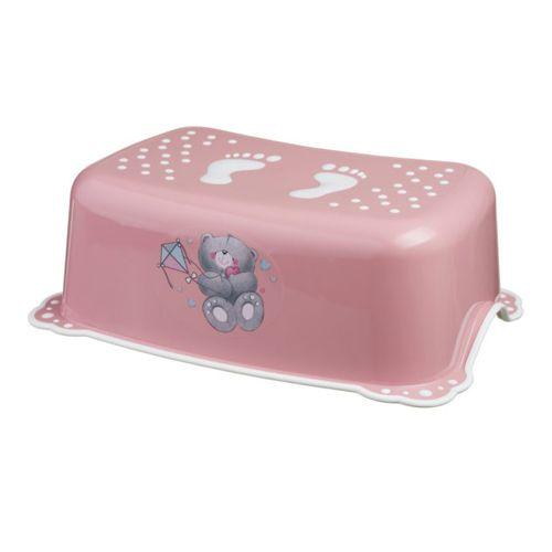 Maltex stepenica za WC Medo roza