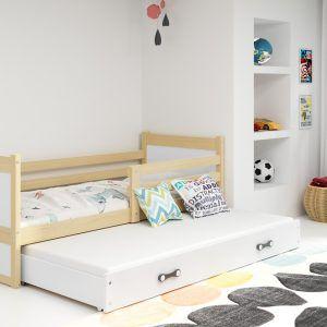 Dječji krevet RICO za dvoje djece PINE (1)