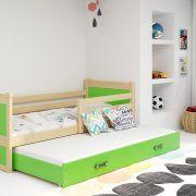 Dječji krevet RICO za dvoje djece PINE (4)