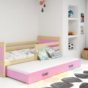 Dječji krevet RICO za dvoje djece PINE (5)
