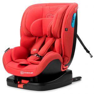 Kinderkraft autosdjedalica VADO 0-18kg  0-25 kg ISOFIX crvena