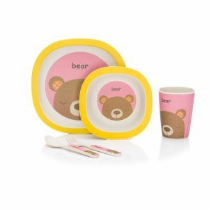 B210-12-Bambus-Geschirrset-Bär-rosa_gelb-D01-