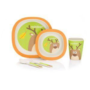 B210-13-Bambus-Geschirrset-Rentier-grün_orange-D01-