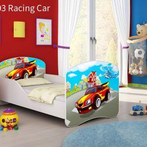 Drveni dječji krevet 03 Racing Car