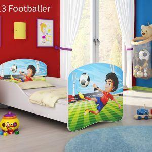 Drveni dječji krevet 13 Footballer