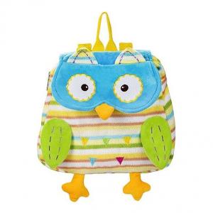 BabyOno vrtićki ruksak sova plava