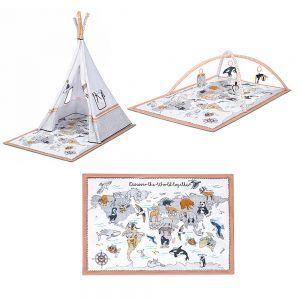 Kinderkraft šator Tippy, 00