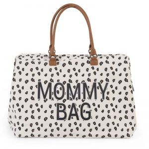 Mommy Bag Big Canvas Leopard 02