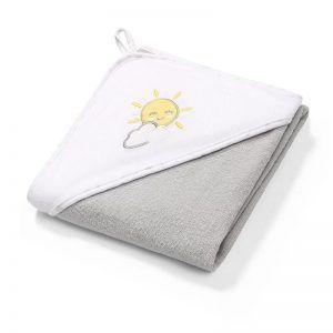 142-08 BabyOno ručnik s kapuljačom, 100x100 cm, 01