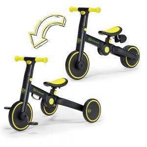 Kinderkraft bicikl 3u1 Trike, black volt 00