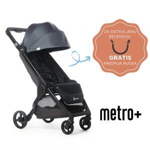 Metro + i gratis precka za recenziju, siva
