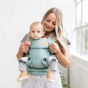 Baby Tula nosiljka, Explore Linen, Reef 03