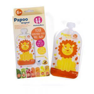 Papoo Original Lion džep za hranu 6 kom 02