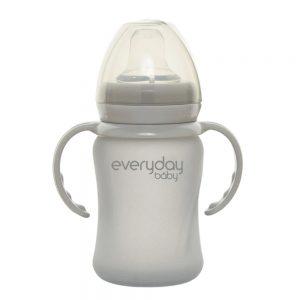 Everyday Baby Čaša Sippy Healthy + 150 ml, siva 01