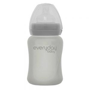 Everyday staklena bocica healthy +, 150 ml siva 01