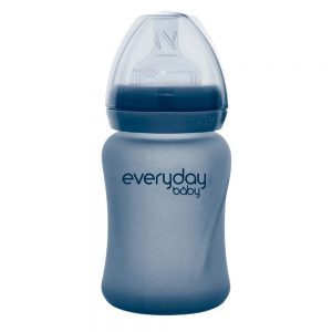Everyday staklena bocica reagira na toplinu healthy +, 150 ml blueberry 01