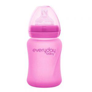 Everyday staklena bocica reagira na toplinu healthy +, 150 ml pink 01