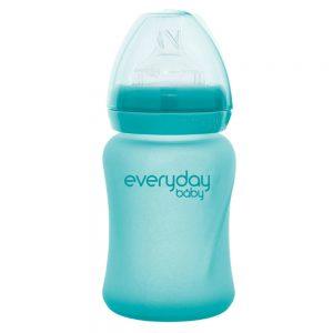 Everyday staklena bocica reagira na toplinu healthy +, 150 ml tirkizna 01