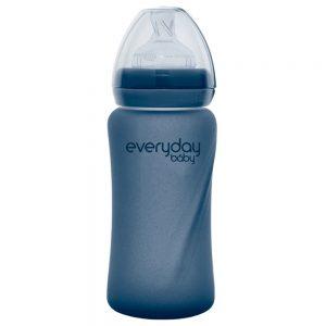 Everyday staklena bocica reagira na toplinu healthy +, 240 ml blueberry 01